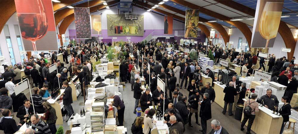 March aux vins d 39 ampuis c te r tie auberge de thorrenc - Salon des vins ampuis ...